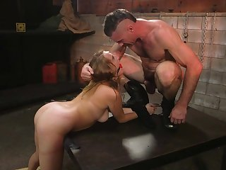 Pain-loving slut Cadence Lux appears to strive few limits