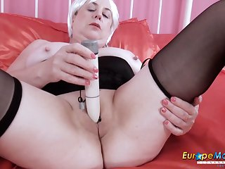 EuropeMaturE Busty British Mature Lady Unequalled Play