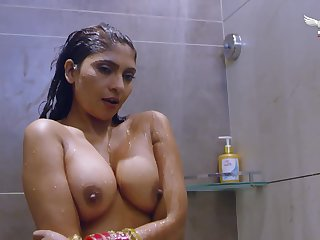 indian busty MILF hard coitus video