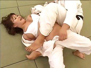 JAPANESE GIRLS JUDO MATCH