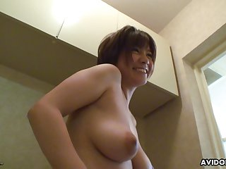 Yowl so shy bubbly Japanese babe gets say no to pussy toyed nicely