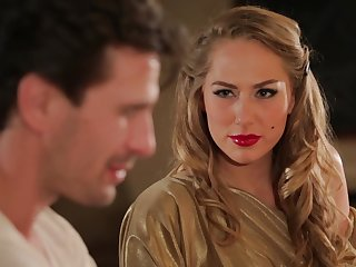 Hot MILF Carter Cruise enters a proscription and seduces at one into having sex with her