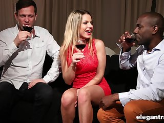 Rendezvous with Angel Rivas ends with passionate triumvirate sex