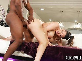 black clog shows this curvy ass woman proper hardcore fucking