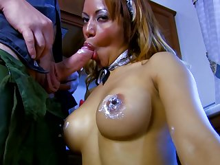 Giselle has the brush hot pussy covered in realm of possibilities