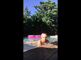 Blonde babe obese boobs fucked voyeur cam