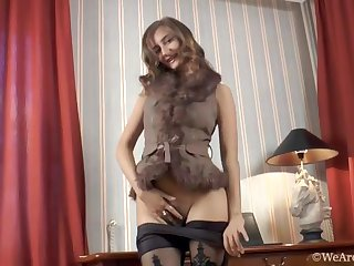 Melody gets naked with bedroom and masturbates - Compilation - WeAreHairy