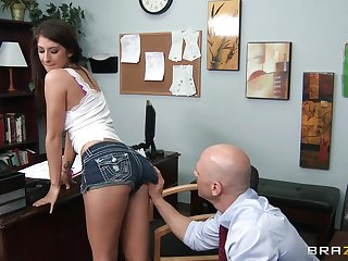 Natural tits wife Karina White fucked by her handsome debase