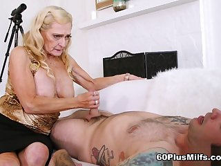68-Year-Old Layla's First Time On-Camera - Layla Rose And Tommy Gat - 60PlusMilfs
