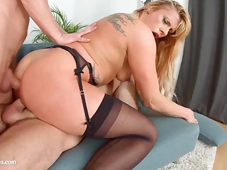Brittany Bardot is a splendid light-haired female who luvs to attempt ass-fuck romp diurnal